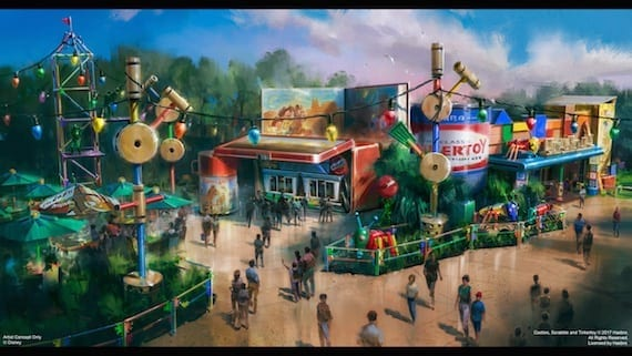 Woody's Lunch Box Announced For Toy Story Land