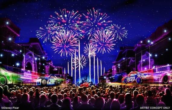 'Together Forever – A Pixar Nighttime Spectacular' from Disneyland Park