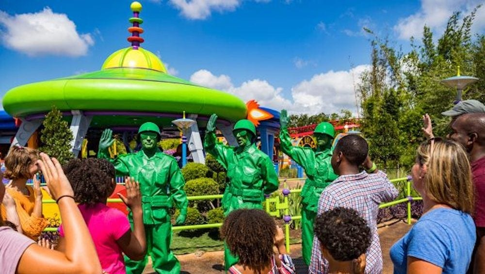 Get Ready to Play Big with the Green Army Patrol in Toy Story Land