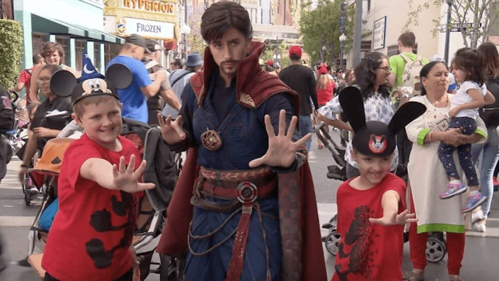Doctor Strange and Other Super Heroes Now Assembling at Disney California Adventure Park