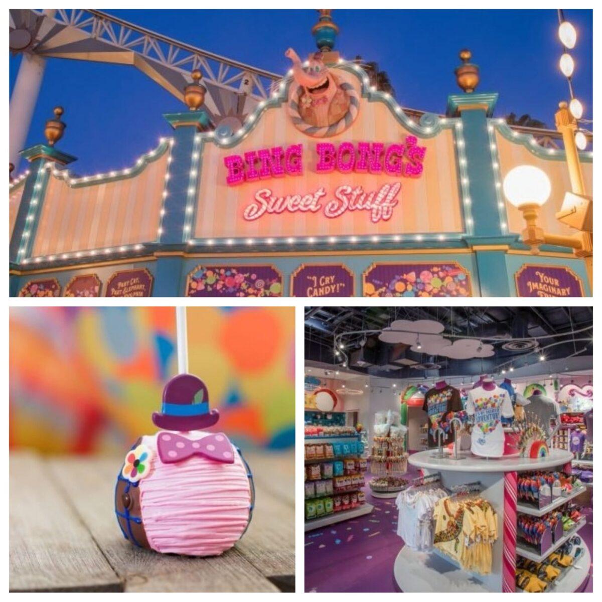 Bing Bong's Sweet Stuff Now Open in Pixar Pier at Disney California Adventure Park