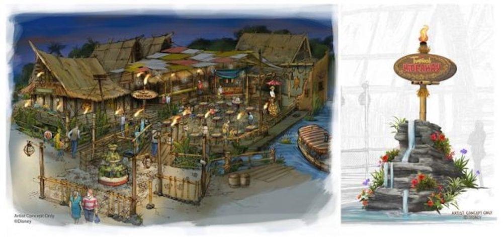 Tropical Hideaway Update at Disneyland Park