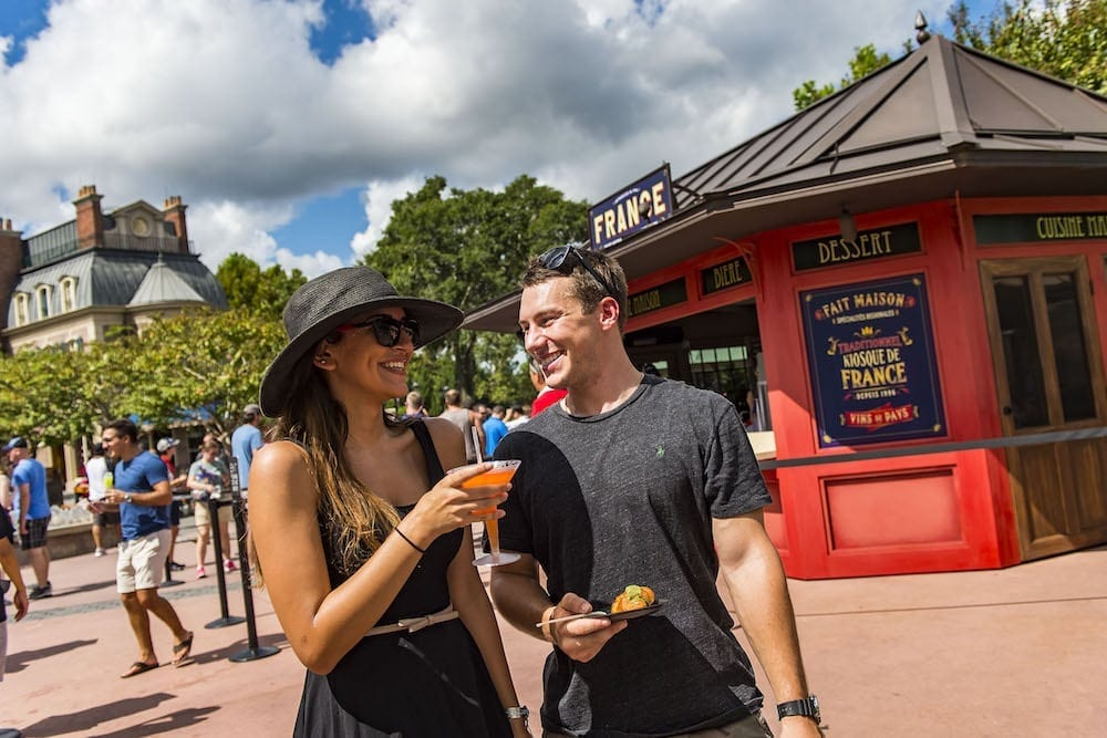Food Guide to Epcot International Food & Wine Festival 2018