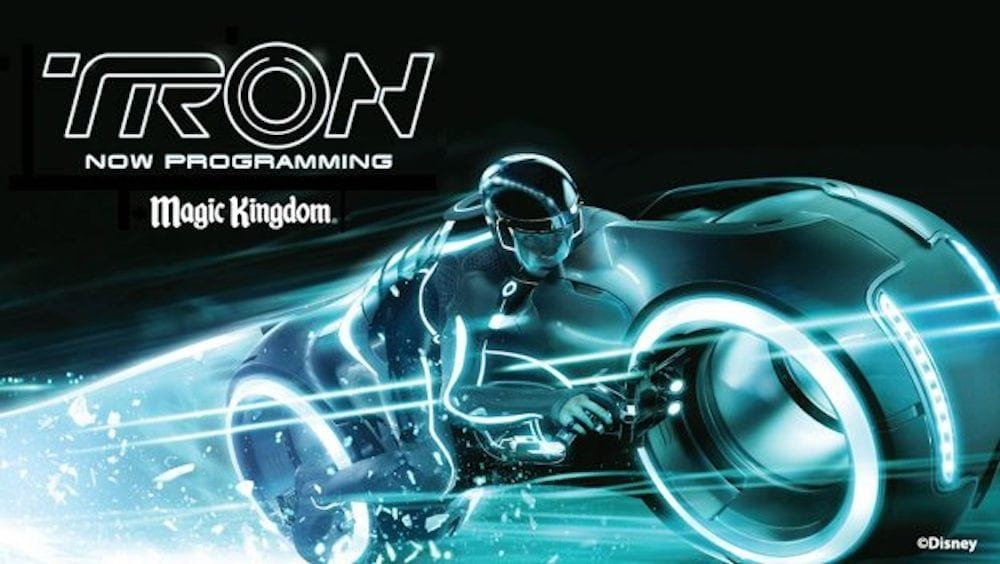 Tron Attraction Update Now Loading …