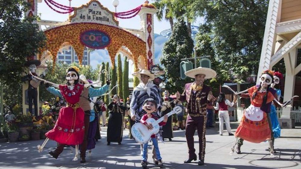 Miguel Joins A Musical Celebration Of 'Coco' As Plaza De La Familia Returns To Disney California Adventure Park