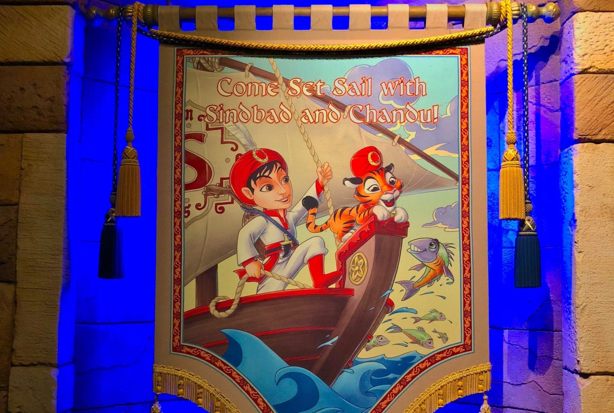 Watch Sindbad's Storybook Voyage at Tokyo DisneySea!