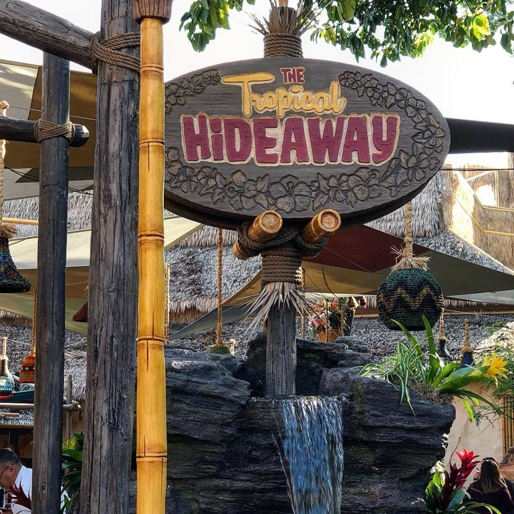 The Tropical Hideaway Now Open