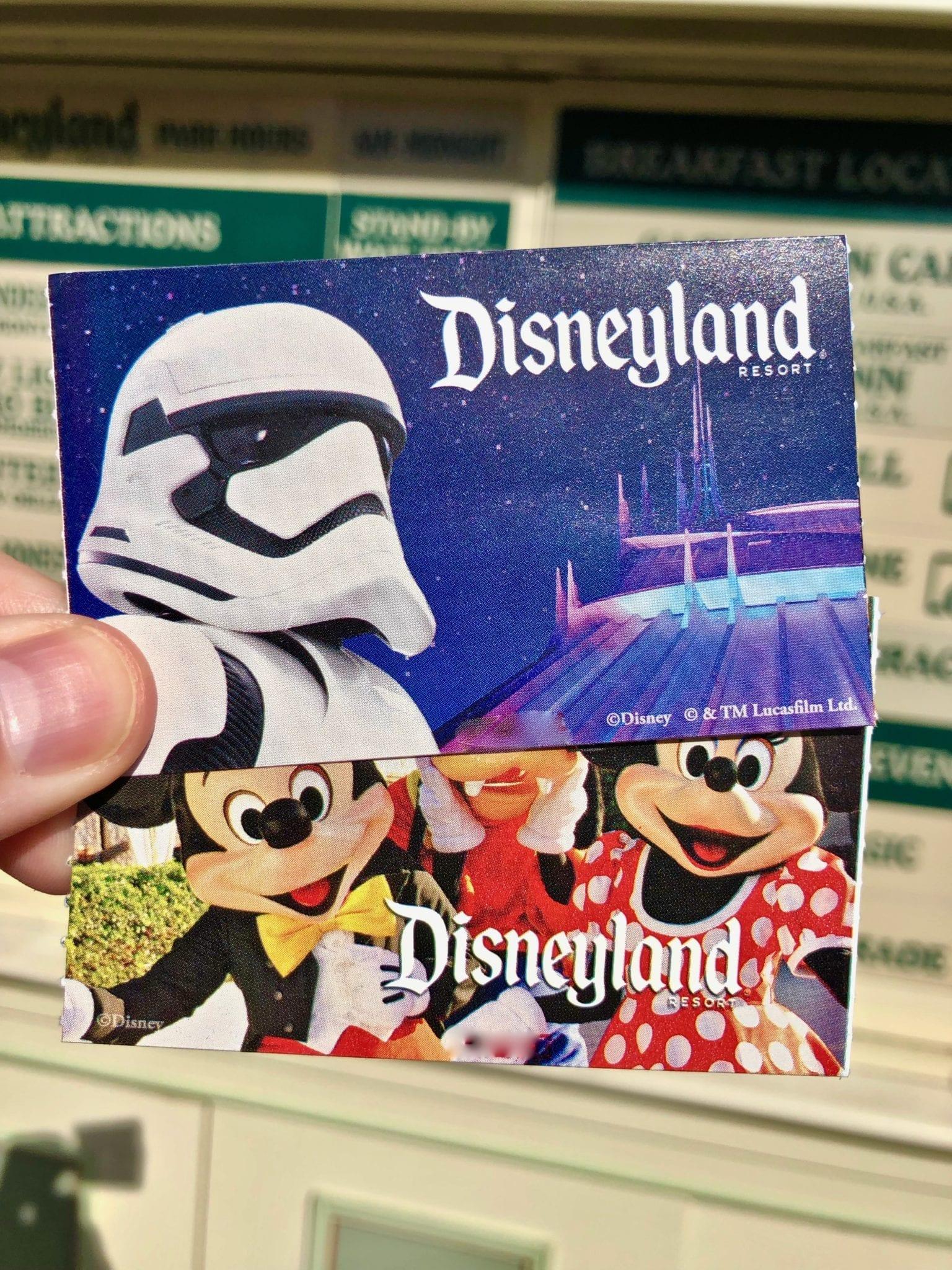 Craigslist Disneyland Tickets
