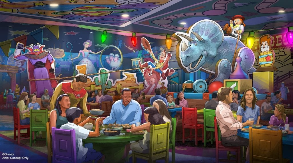 New Roundup Rodeo BBQ Restaurant – Toy Story Land