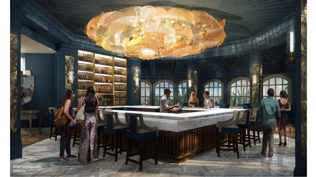 New Bar and Lounge at Grand Floridian Resort