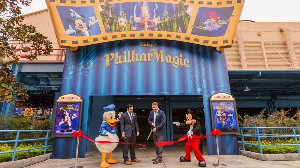 'Mickey's PhilharMagic' Now Open
