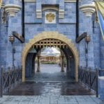 Bridge Through Sleeping Beauty's Castle