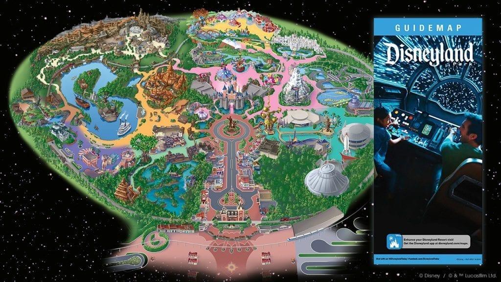 Guidemap for Star Wars: Galaxy's Edge at Disneyland