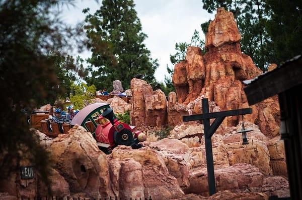Disney At Home: Big Thunder Mountain Railroad
