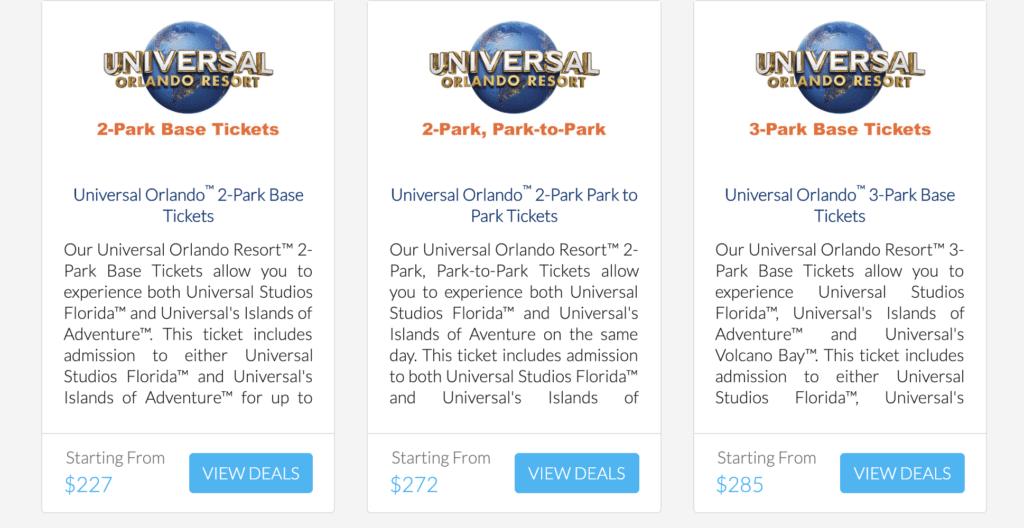 discount universal studios orlando