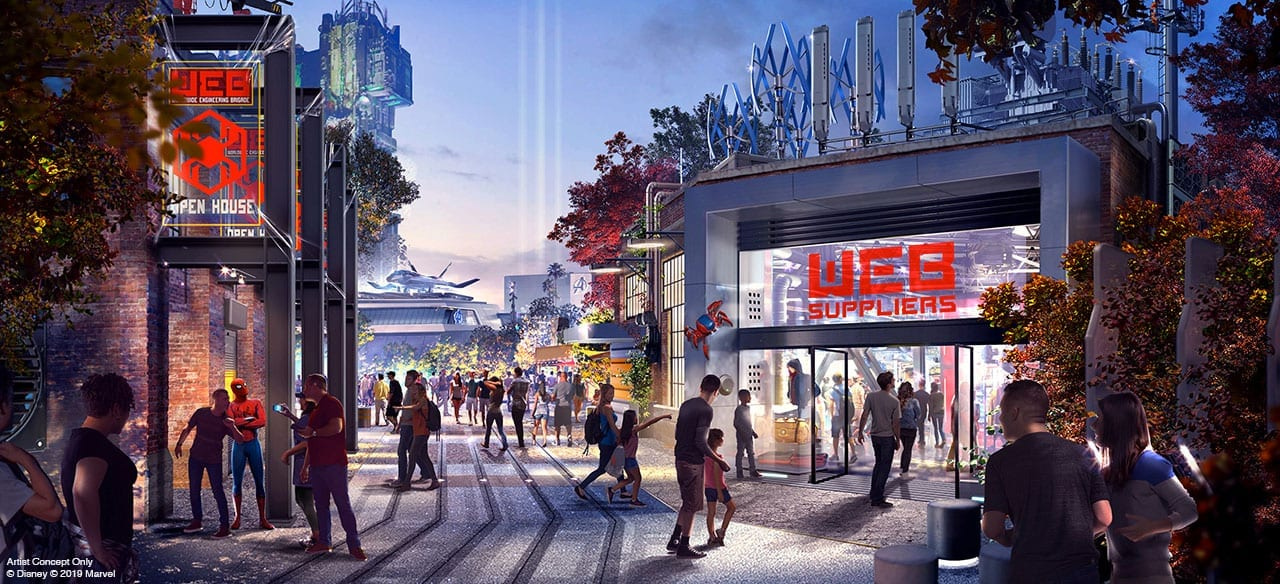 Avengers Campus At Disneyland On Hold
