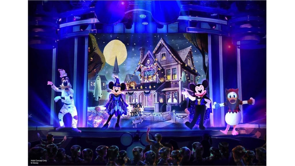 Spooky Time for Kids at Oogie Boogie Bash