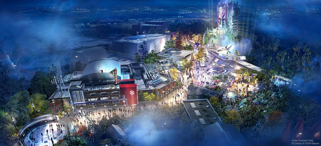 Avengers Campus Land Coming to California Adventure Park