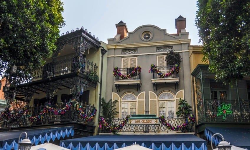 Cafe Orleans Disneyland