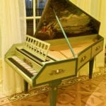 Green Piano Inside of Club 33