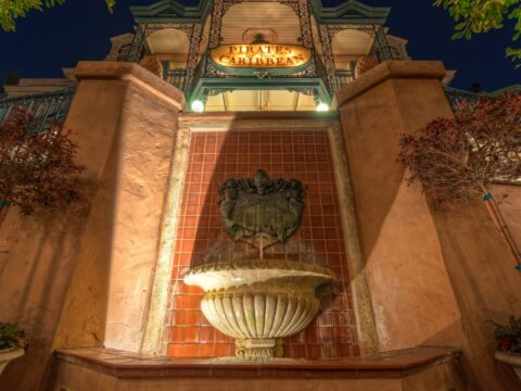 Pirates of the Caribbean Fountain