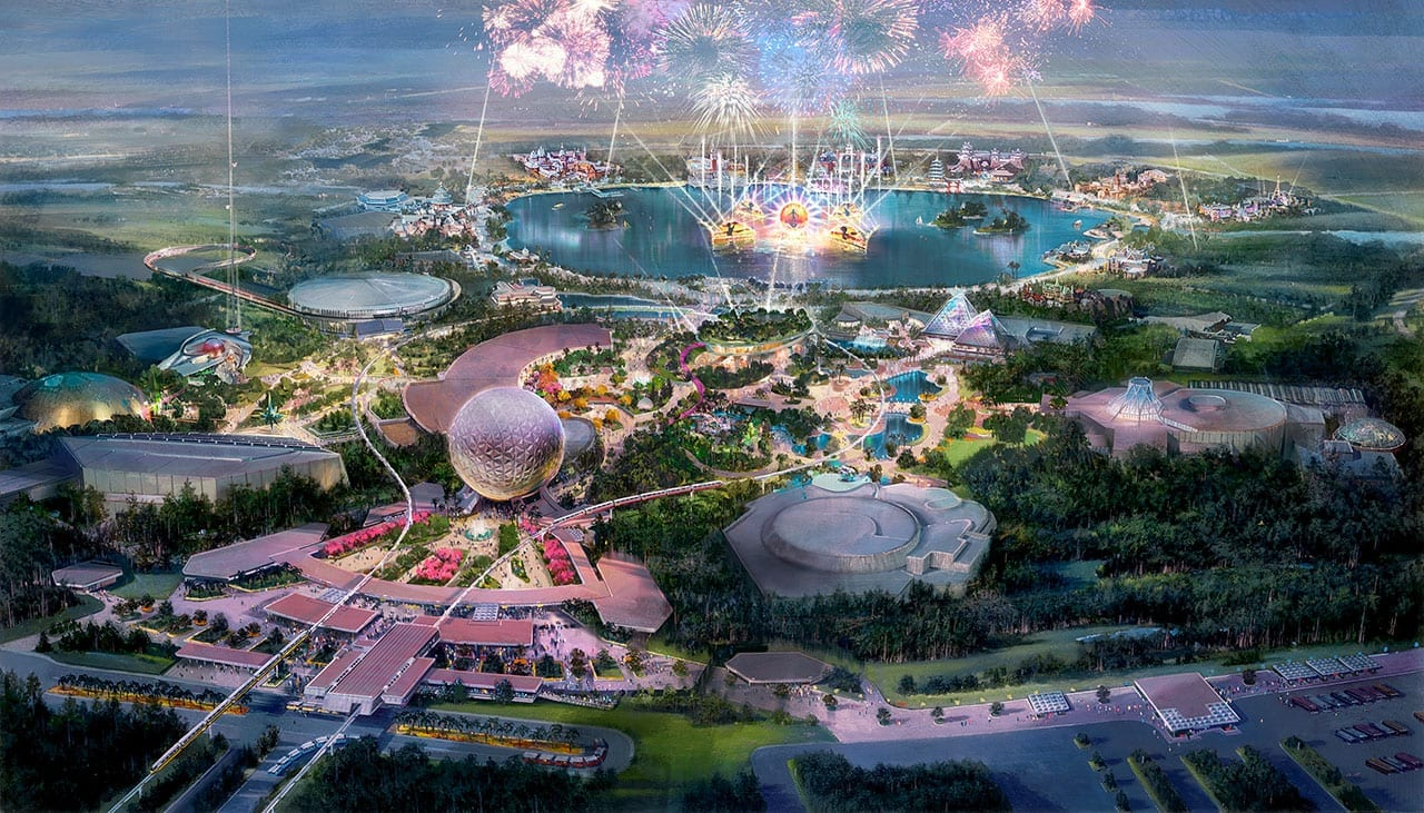 New Lands and Attractions Coming to Epcot