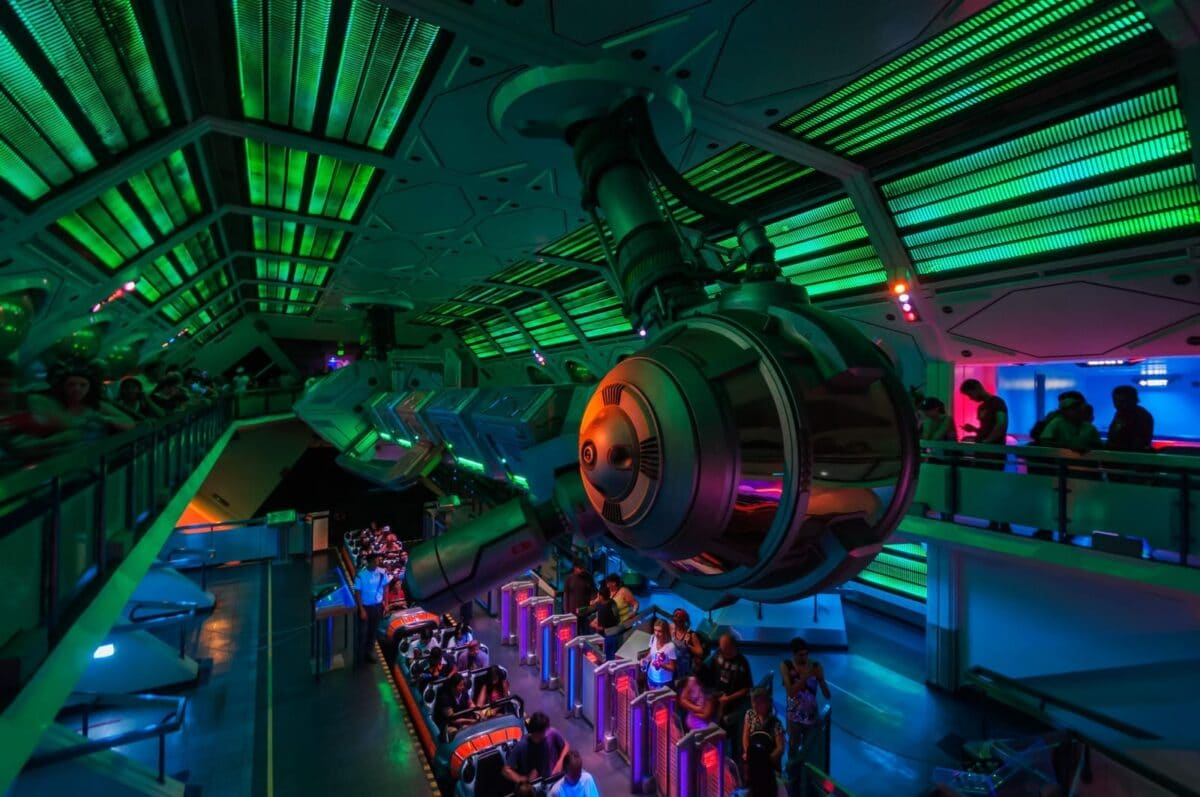 Green and Black Dim Room, Guests Board Ghost Staton Attraction