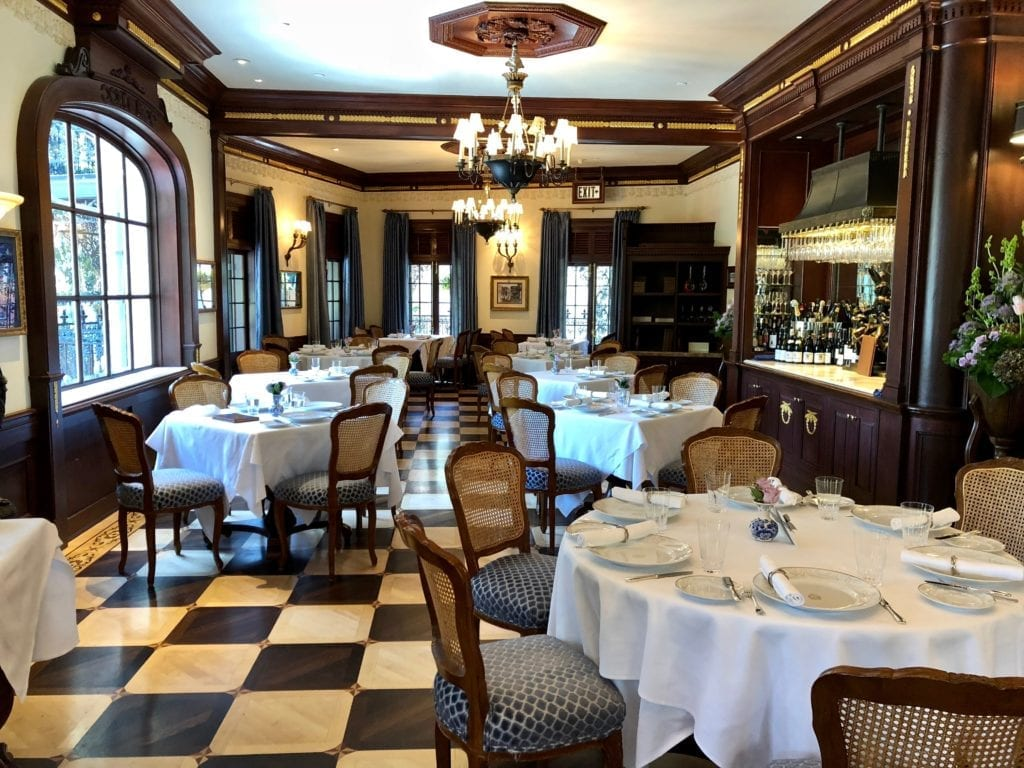 Club 33 dining hall
