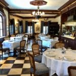 Club 33 dining hall