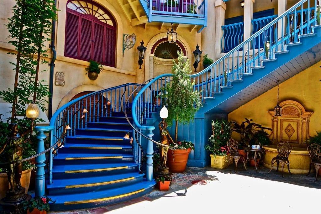 Court of Angels Disneyland