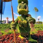 Donald Duck Topiary