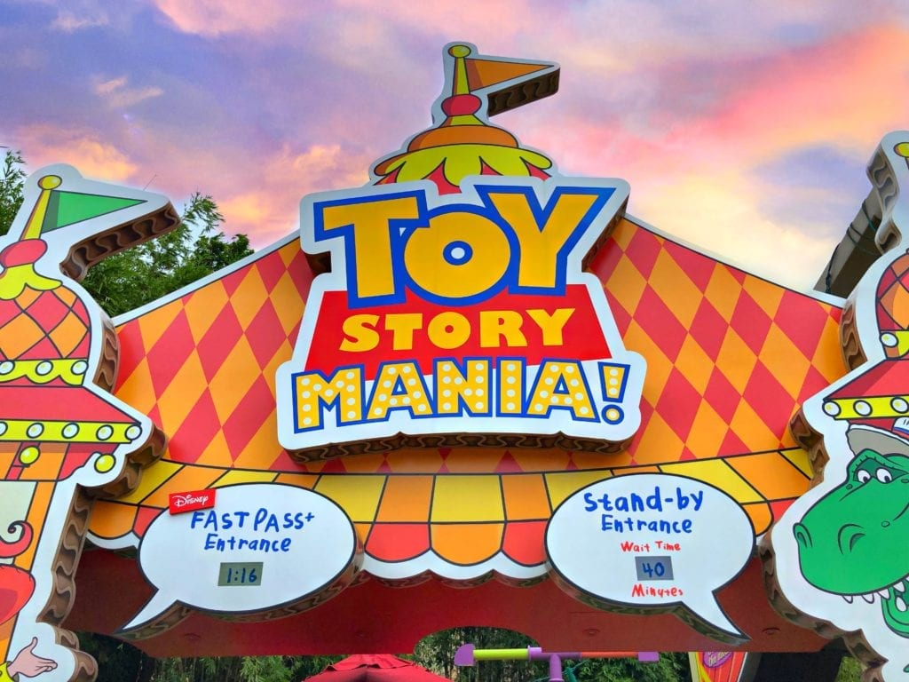 Toy Story Midway Mania Main Entrance