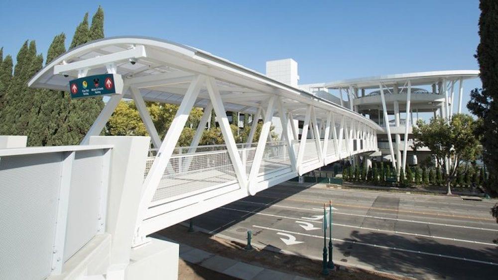 New Pedestrian Bridge Now Open – Disneyland Resort