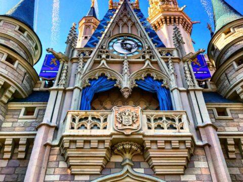 Cinderella's Castle close up