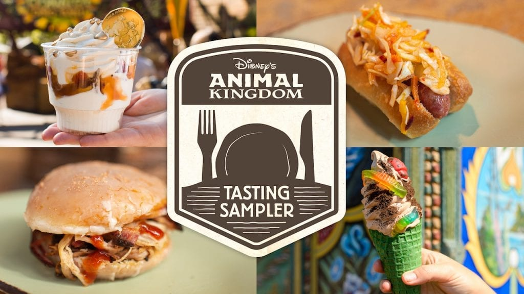 Disney's Animal Kingdom Winter 2019 Tasting Sampler