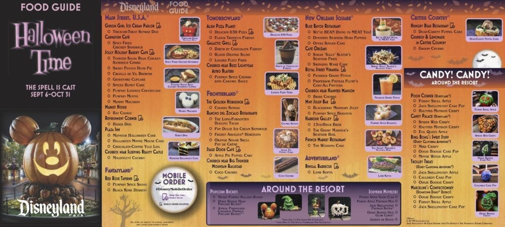 Halloween Dining Guide