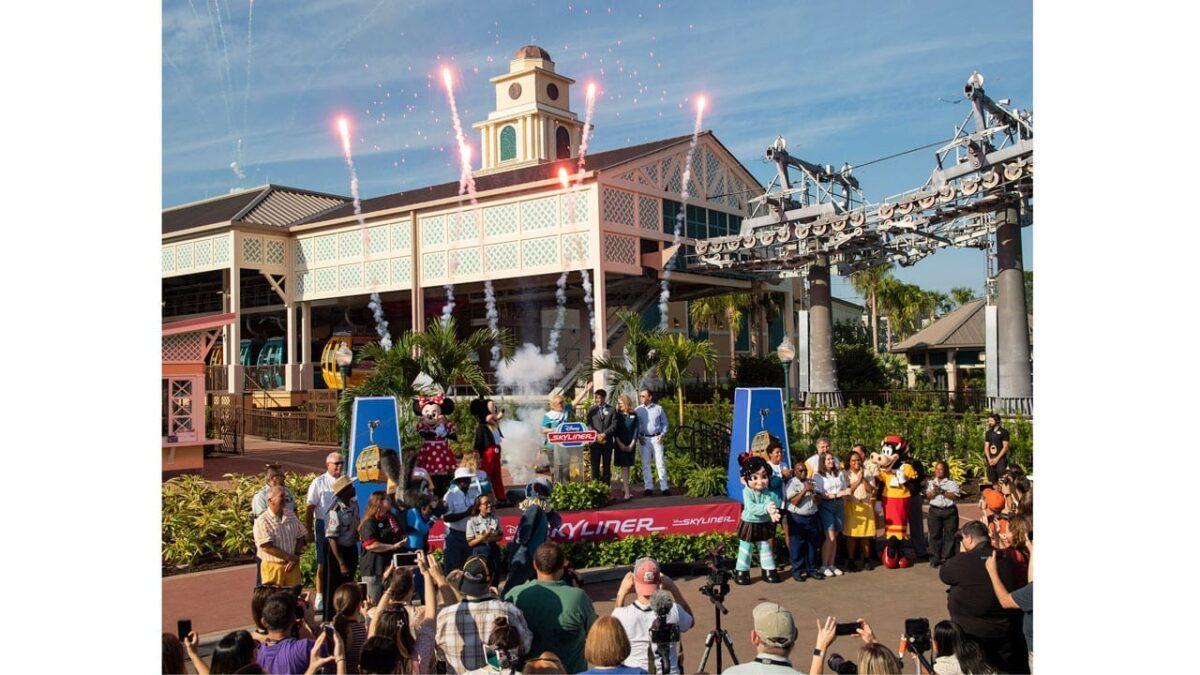 Disney Skyliner Transportation System Now Open at Walt Disney World Resort