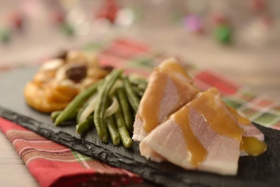 Hand-carved Smoked Ham