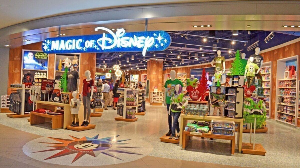 Magic of Disney Store Opens at Orlando Intl. Airport