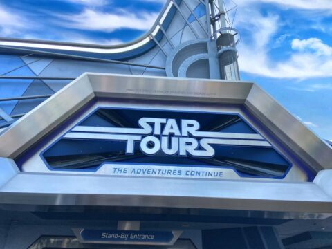 Star Tours Attraction entrance
