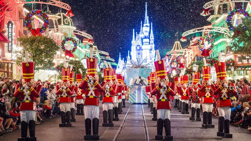 Mickey's Very Merry Christmas Party Officially Starts