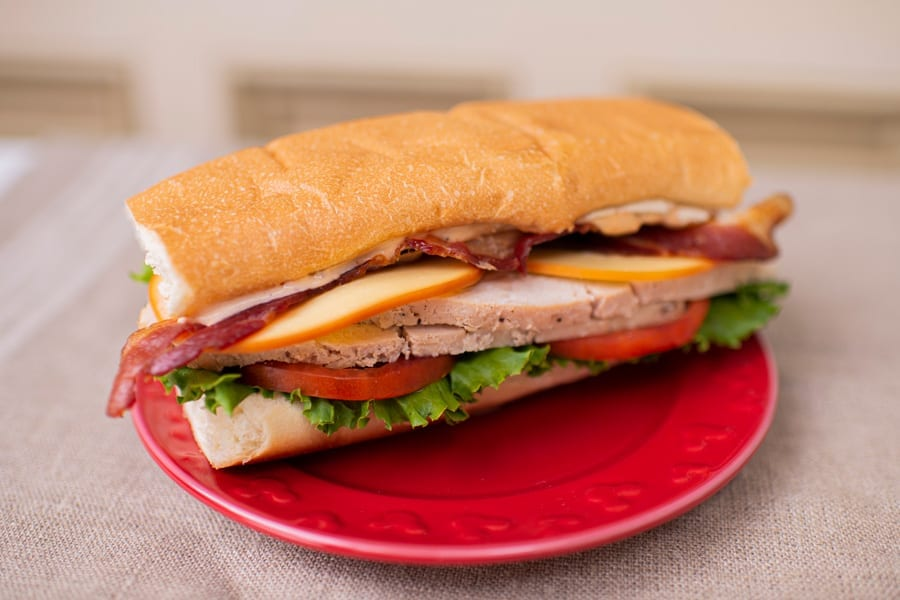 Carved Turkey Sandwich