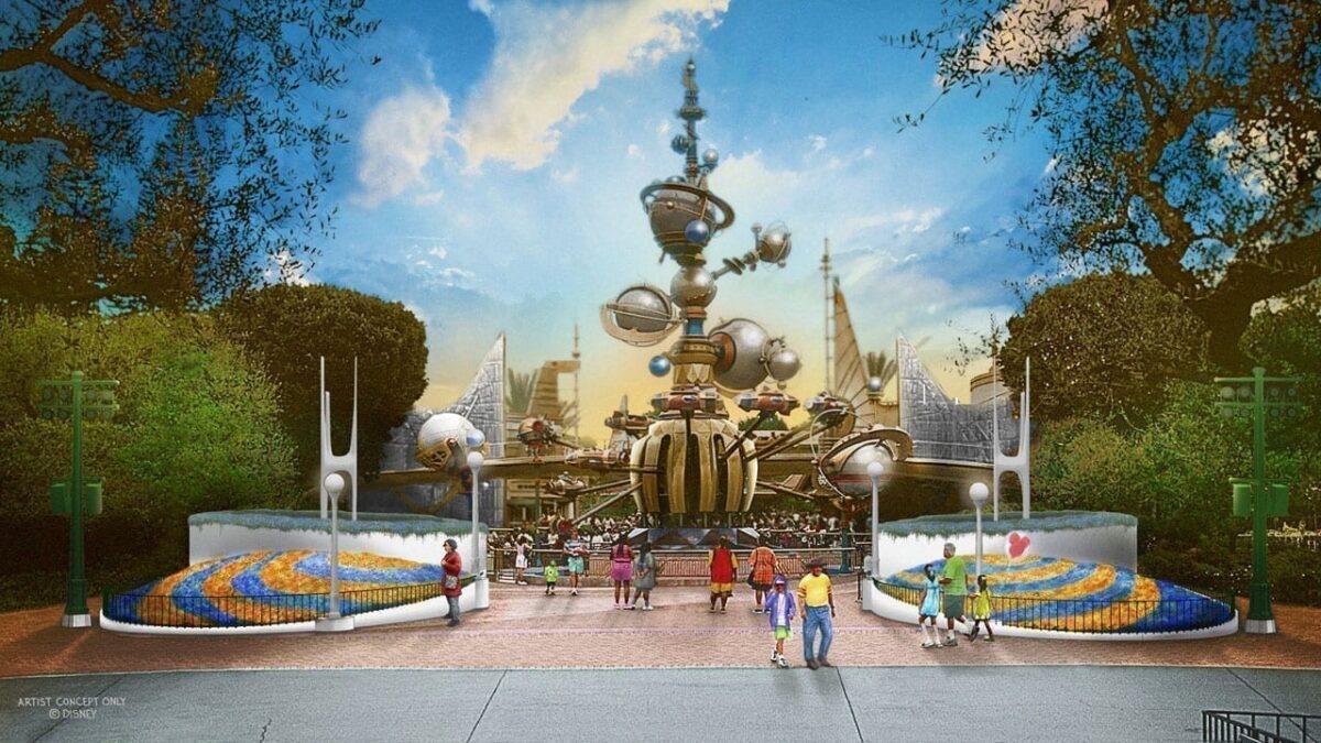 New Tomorrowland Entrance Coming Soon to Disneyland Park