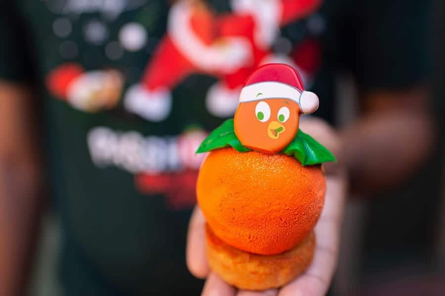 Orange Bird Christmas