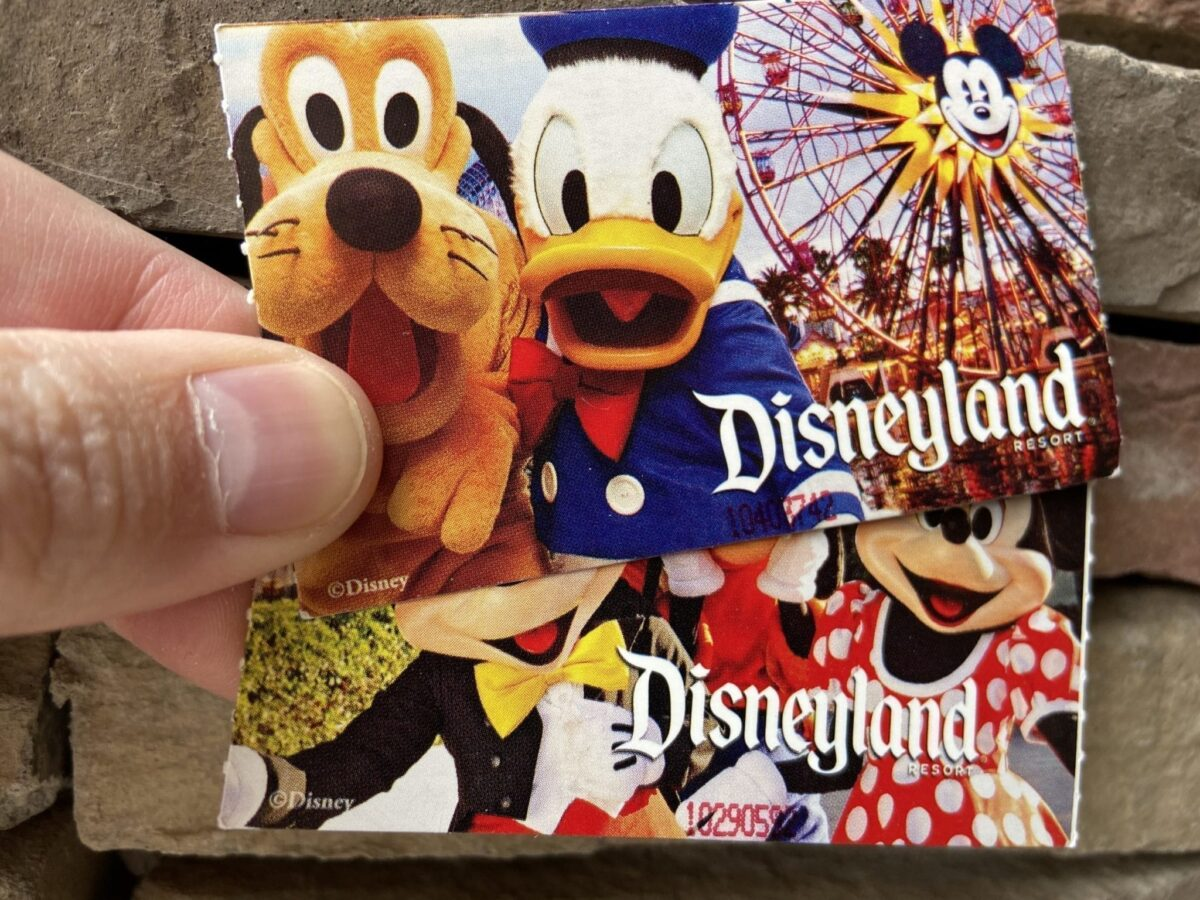Two Disneyland Tickets