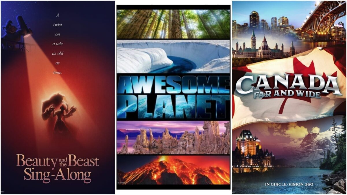 New Epcot Films to Debut January 17th