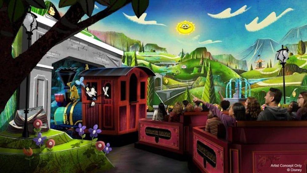 Mickey & Minnie's Runaway Railway Set to Open March 4, 2020
