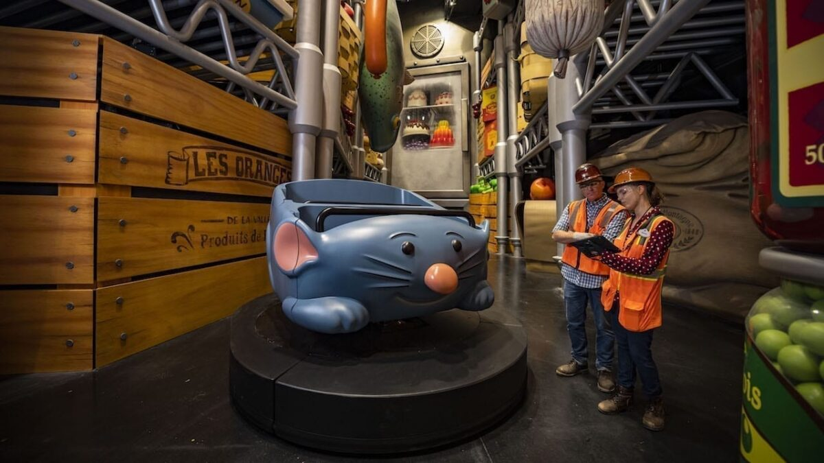 Inside Remy's Ratatouille Adventure at Epcot
