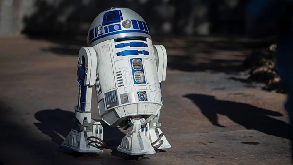 R2-D2 Now Gliding Around Galaxy's Edge at Disneyland Park