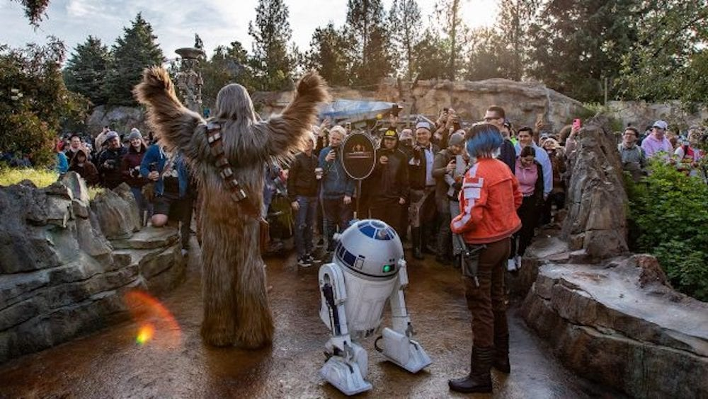 Star Wars: Rise of the Resistance Now Open at Disneyland Park